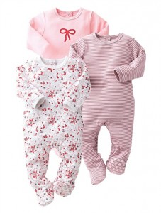 vertbaudet, baby sleep suit, baby sleepwear, footed leg sleep suit, onsie, one piece sleep suit, sleep suit