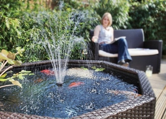 Water Features for Small Gardens 10