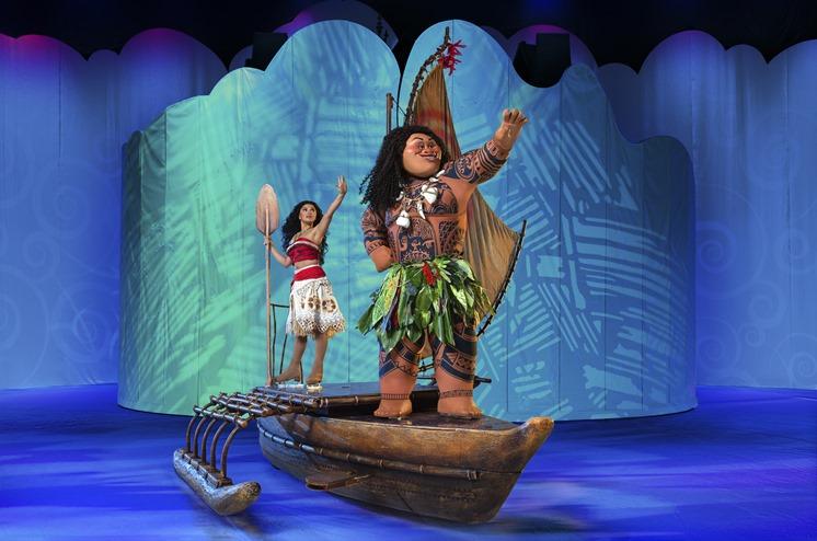 Disney on Ice Dream Big Introduces Moana 4