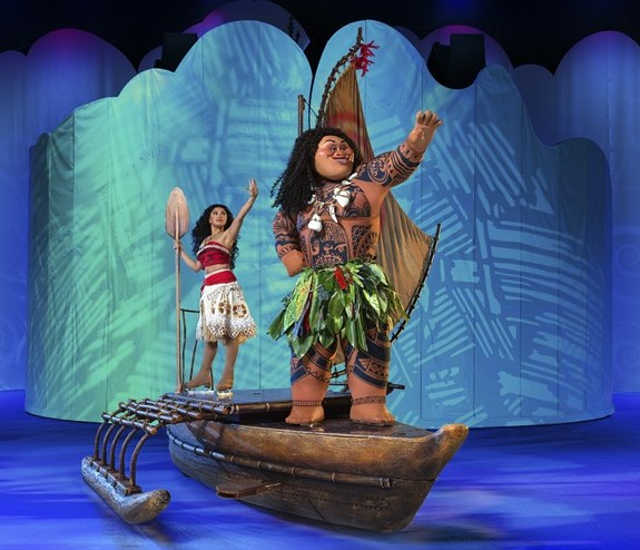 Disney on Ice Dream Big Introduces Moana 6