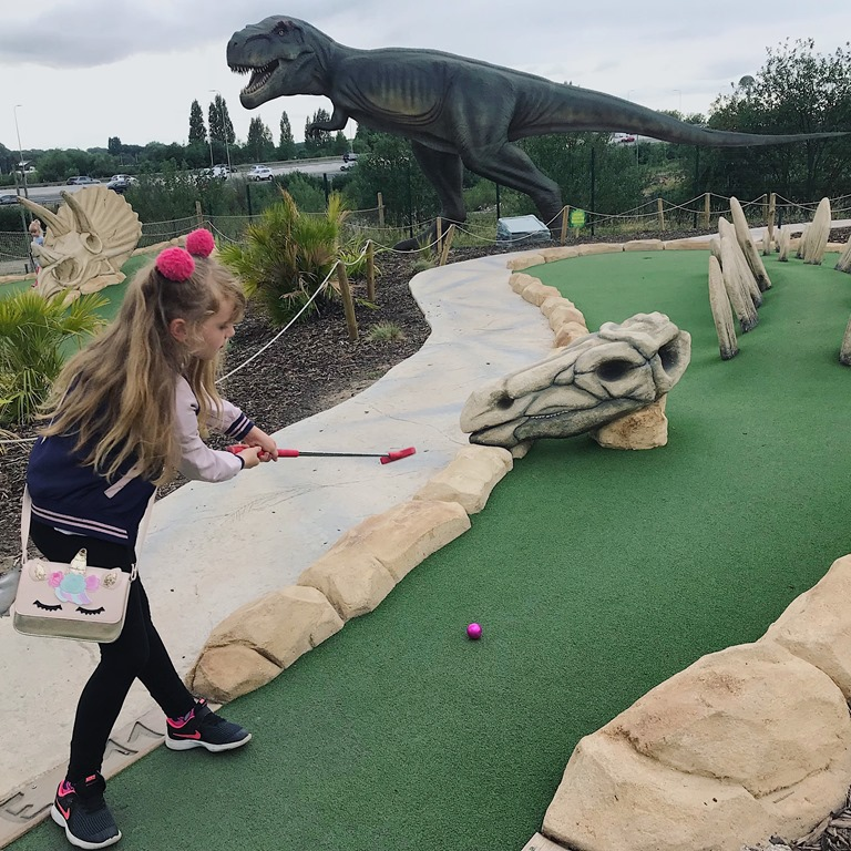 Dino Falls Adventure Golf (Trafford) 8