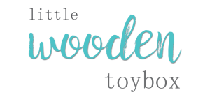 little wooden toybox