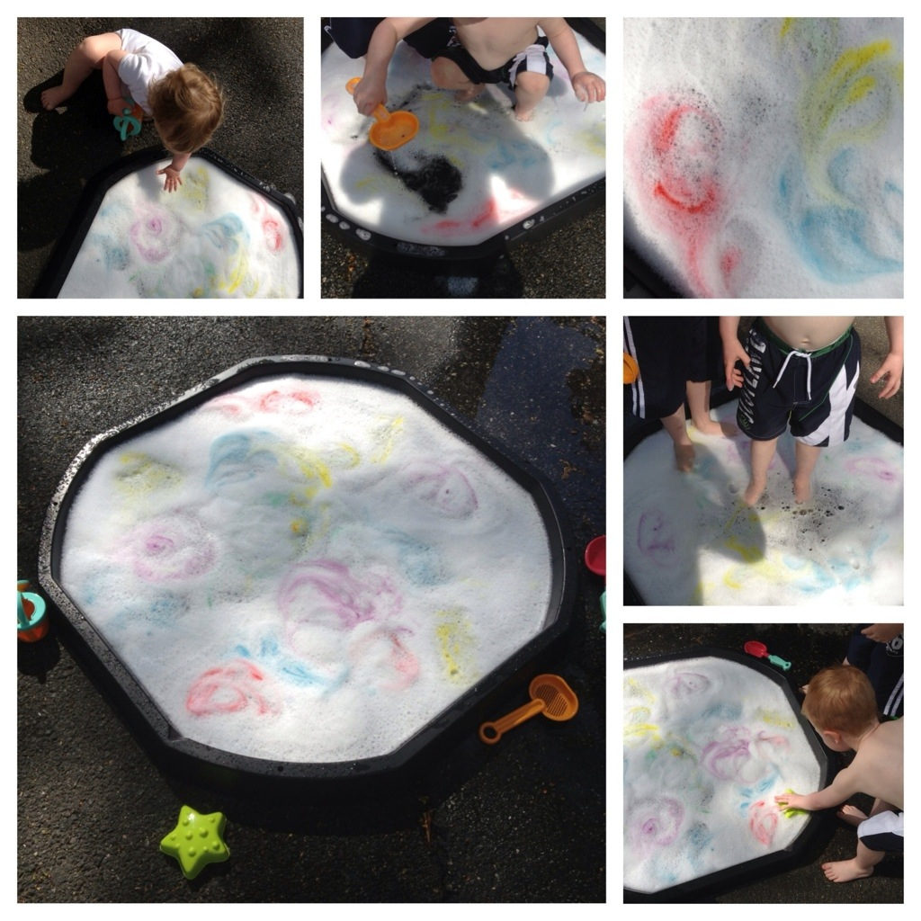 Water and bubble fun 1