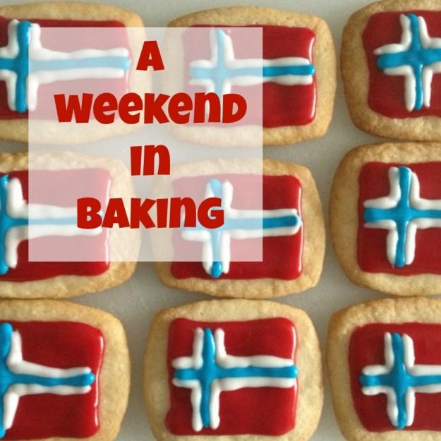A weekend in baking