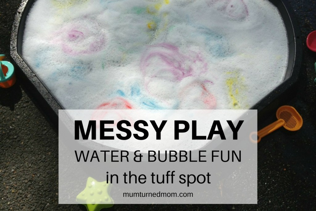 Water and Bubble Fun in the Tuff Spot - Featured Image