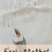 Maths and the preschooler
