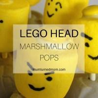 Bake: Lego Head marshmallow pops