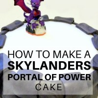 How to make a Skylanders Portal of Power Cake