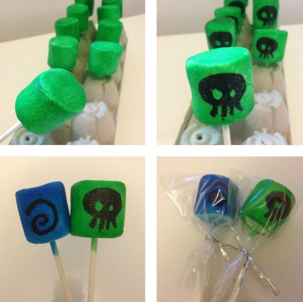 Skylander Marshmallow Pops 2
