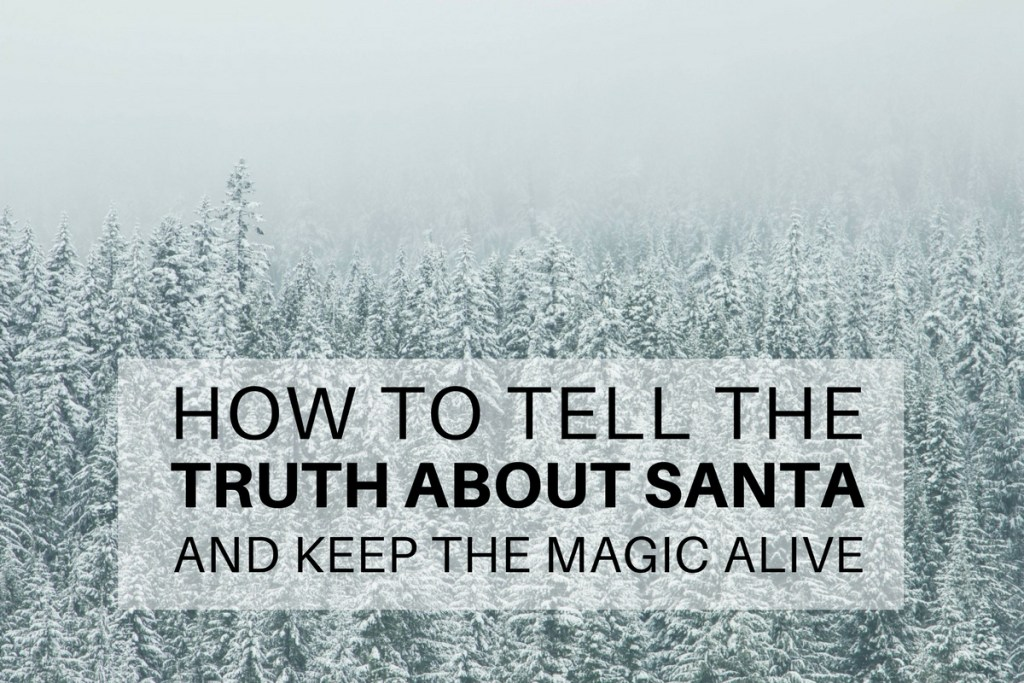 HOW TO TELL THE TRUTH ABOUT SANTA - Featured Image