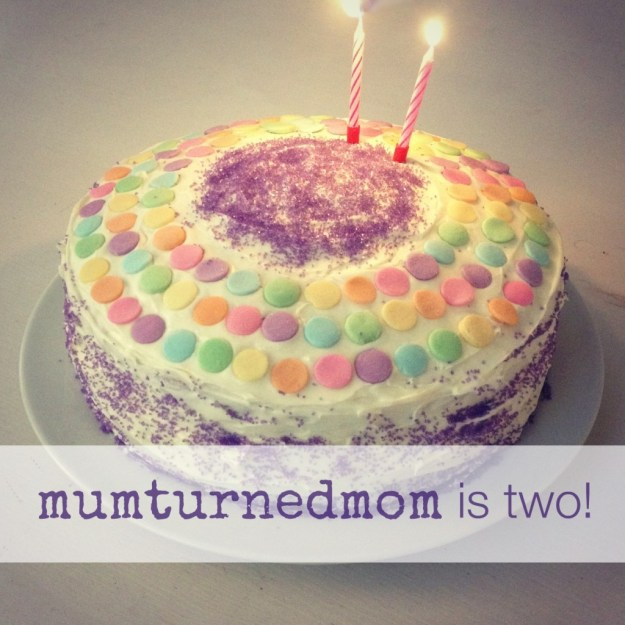 mumturnedmom is two
