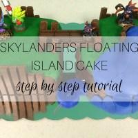 Bake: Skylanders Floating Island Cake