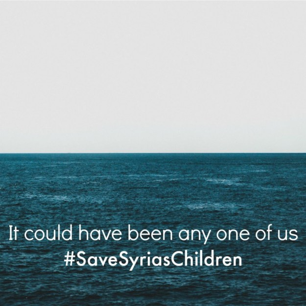 It could have been anyone of us - Save Syrias Children