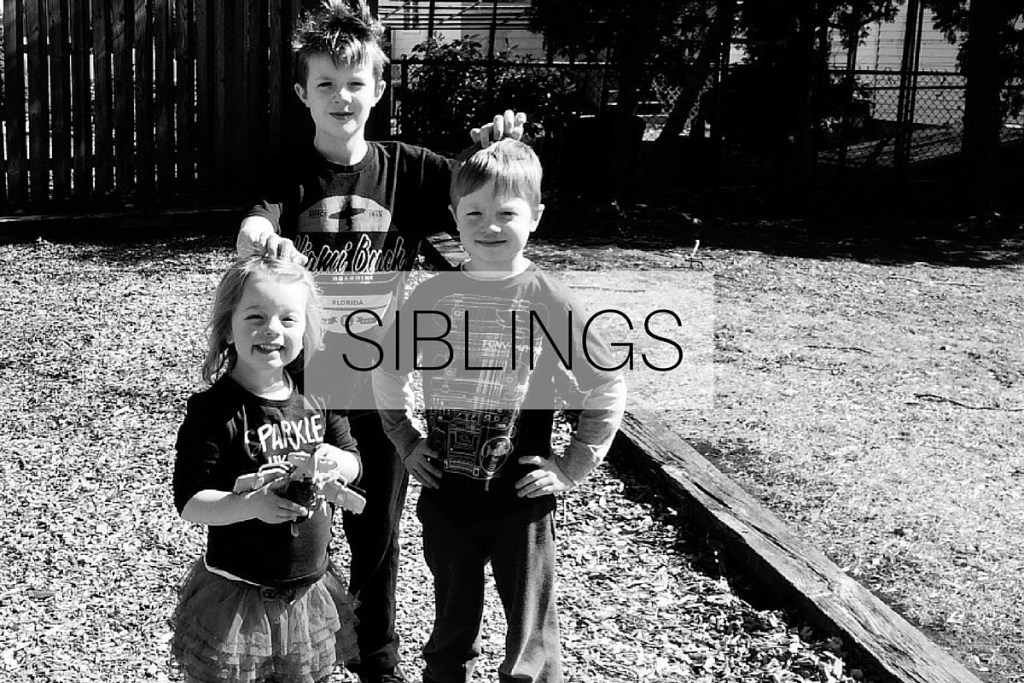 Siblings: March 2016