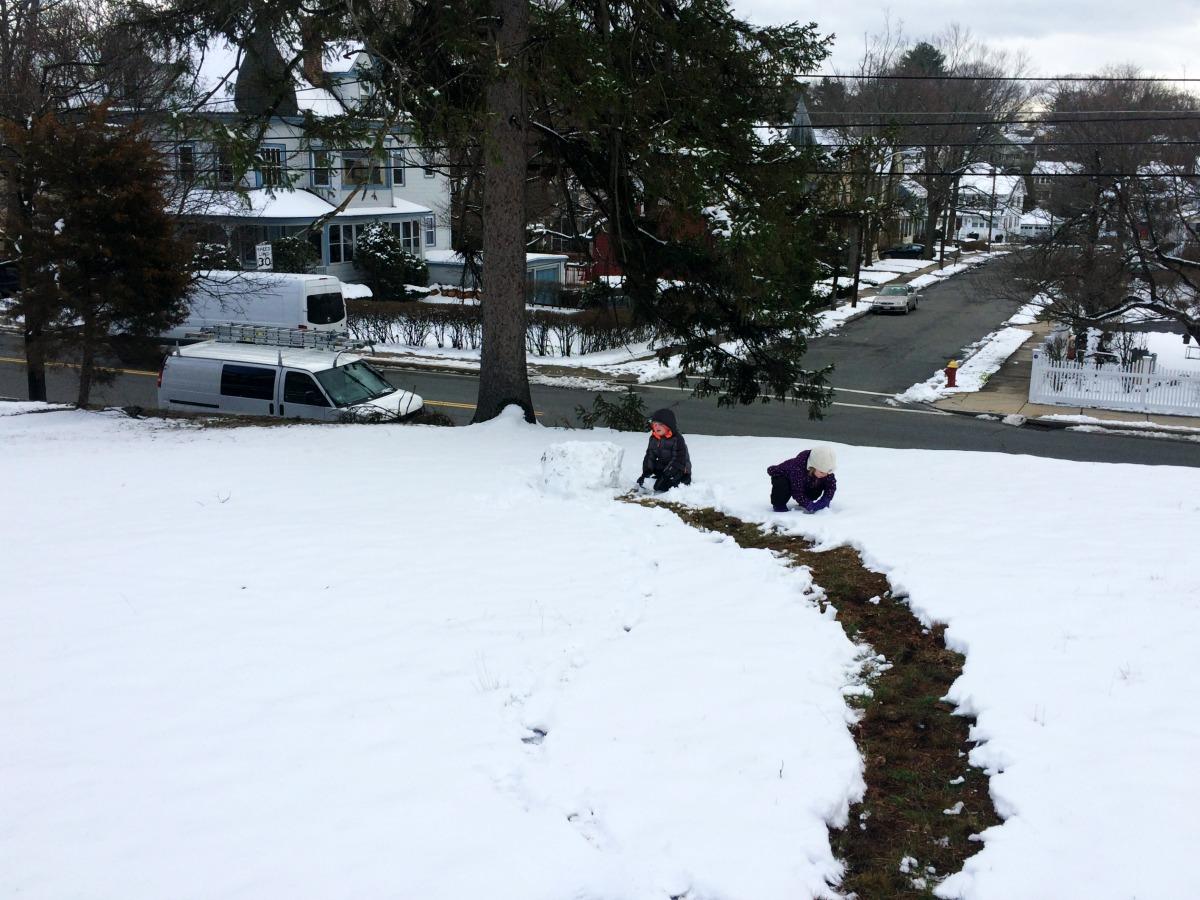 Snow Fort 1