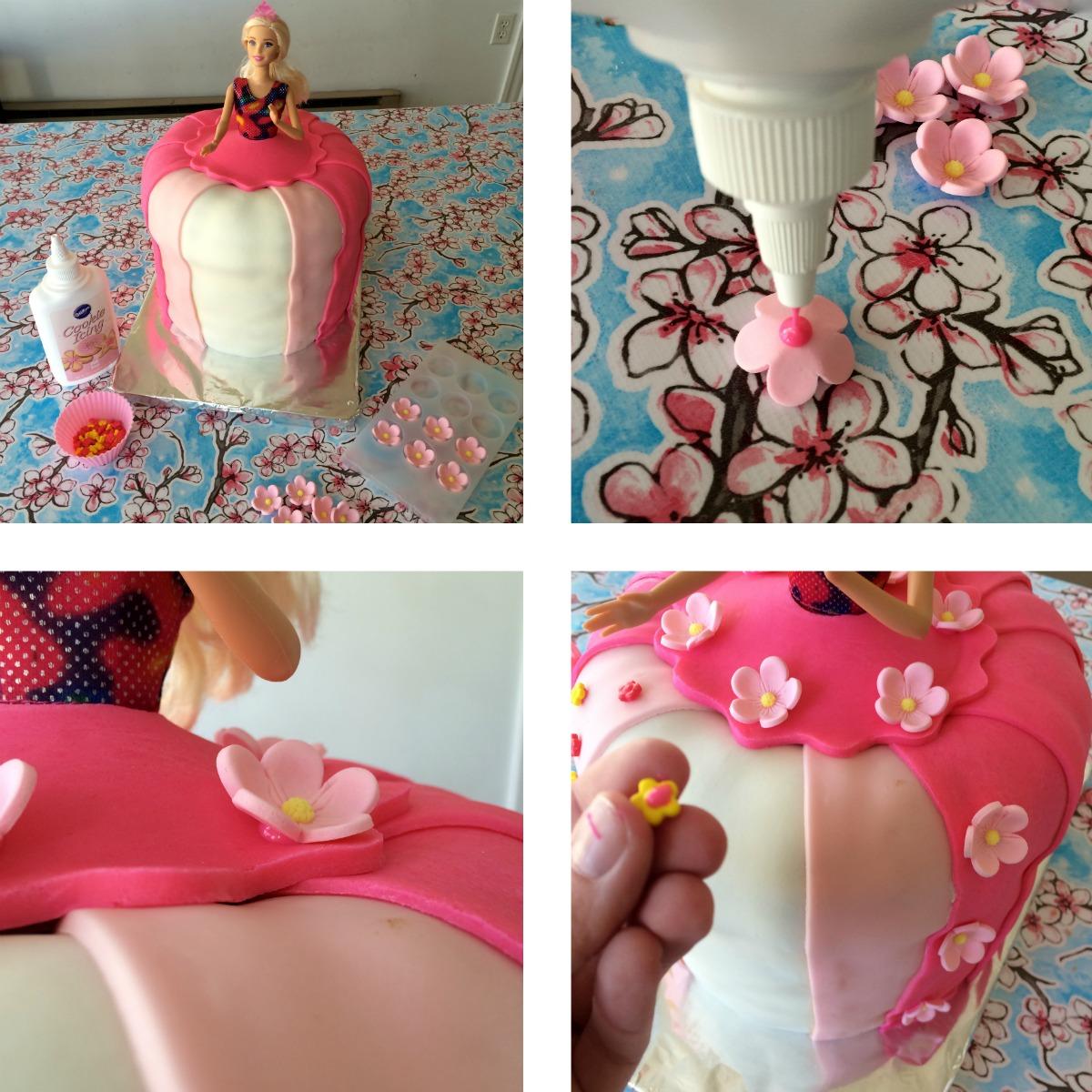 Princess Cake Tutorial 6