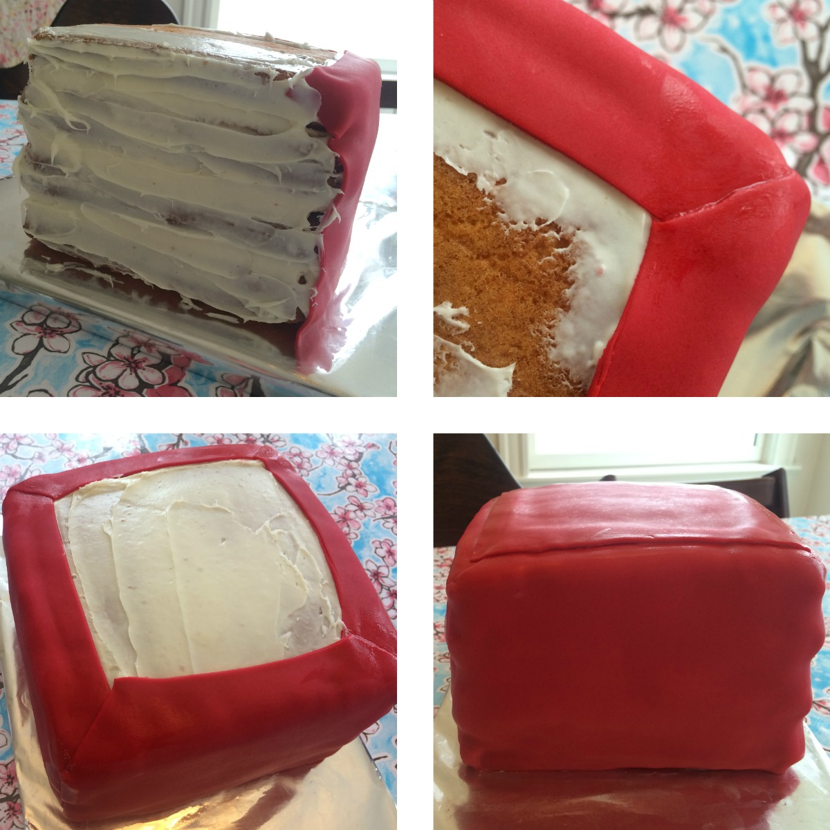 Minecraft TNT Cake Tutorial 3