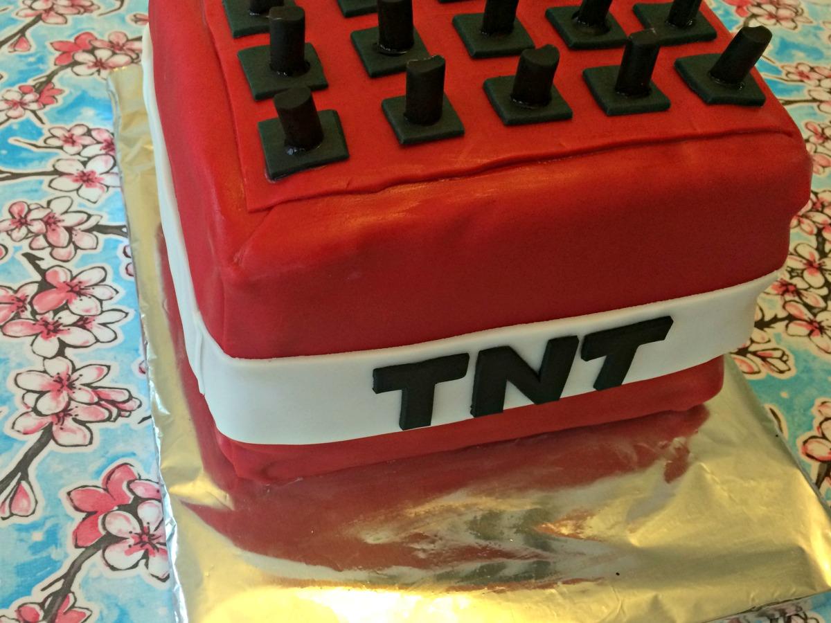 Minecraft TNT Cake Tutorial 7