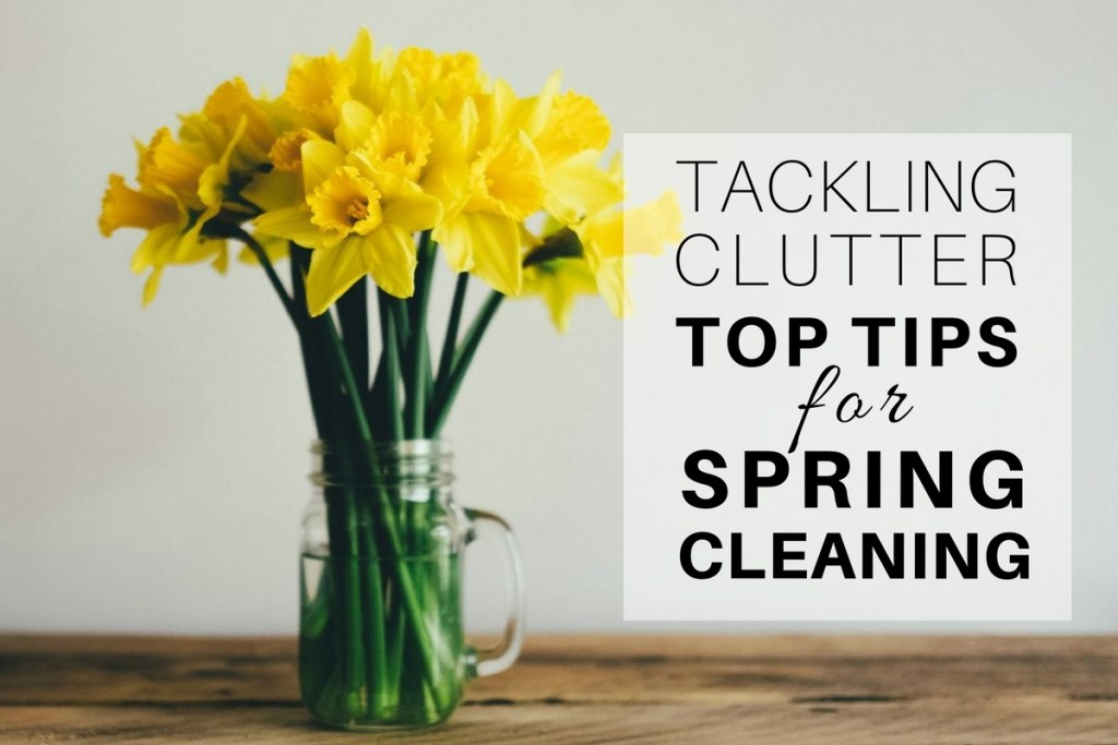 Top Tips for Spring Cleaning