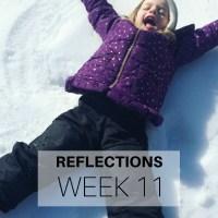 Reflections: Week 11