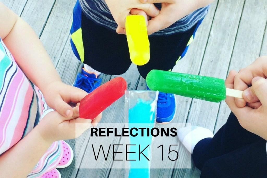 Reflections Week 15