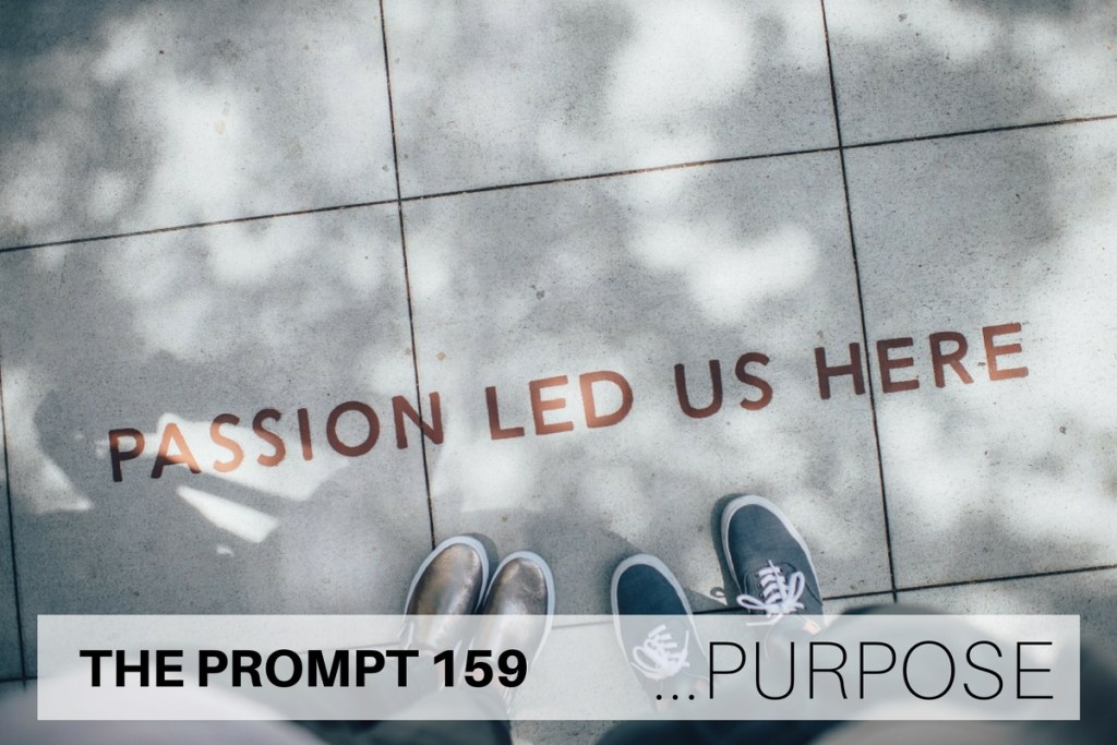 THE PROMPT 159: Purpose