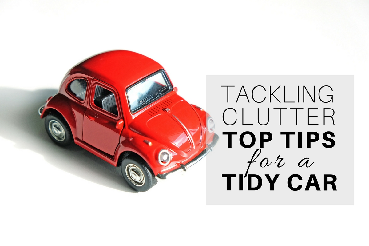 Top Tips for a Tidy Car