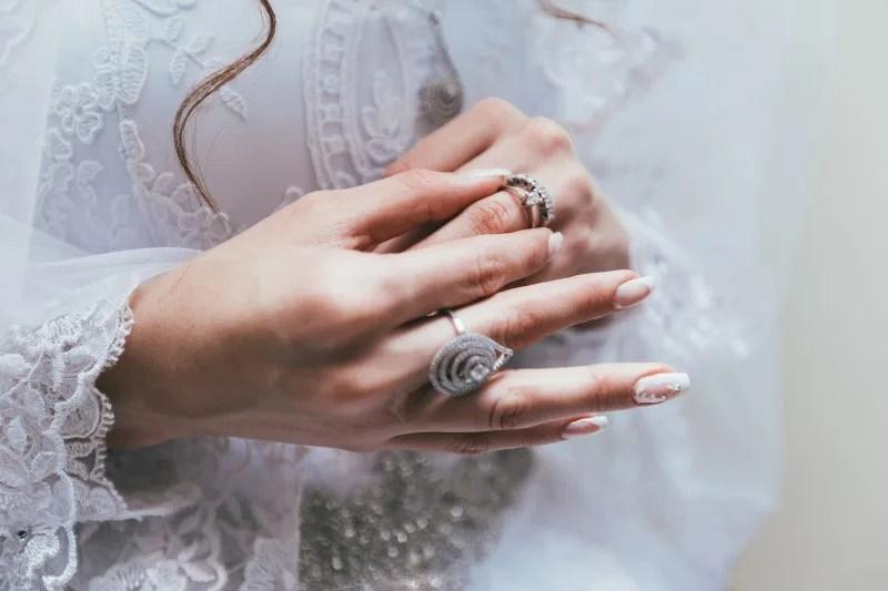 結婚式ゲストの装飾品
