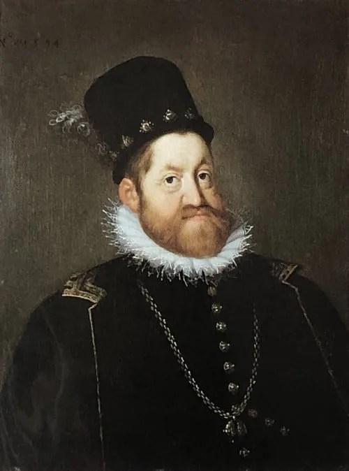ヨーゼフ・ハインツ(父)《神聖ローマ皇帝ルドルフ2世の肖像》