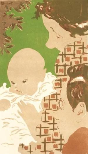 ピエール・ボナール-家族の情景