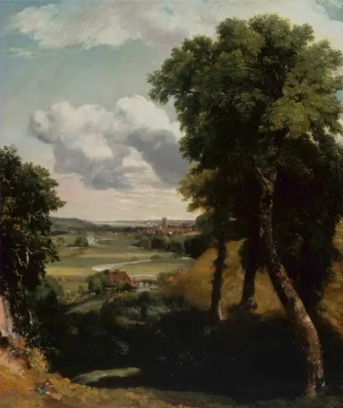 コンスタブル-《デダムの谷》
