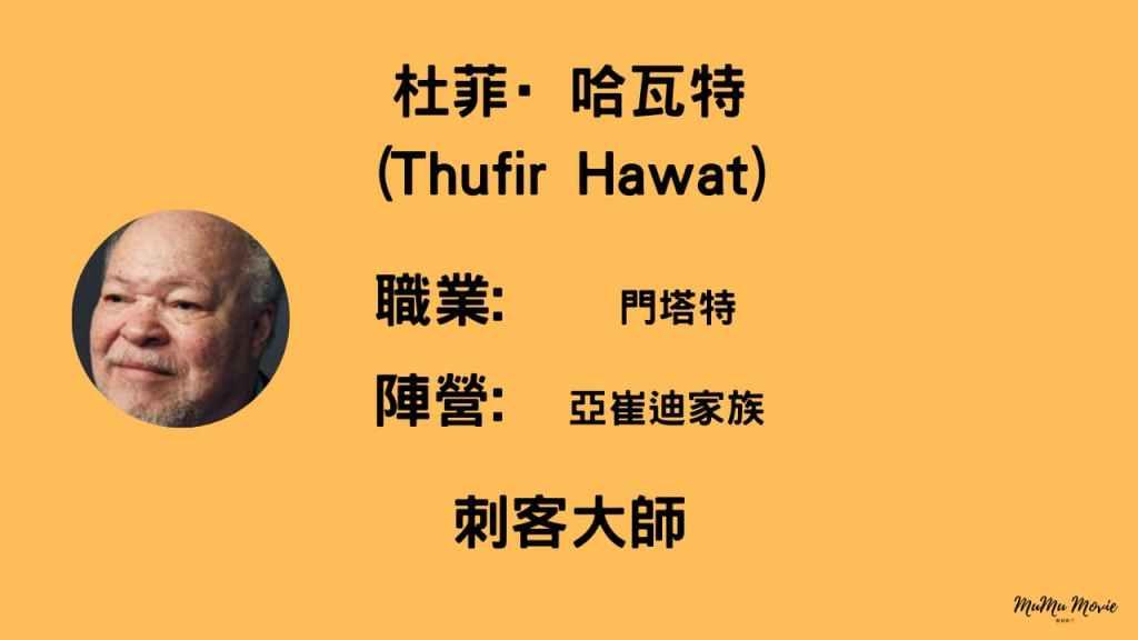 沙丘1電影中杜菲·哈瓦特Thufir Hawat是誰?