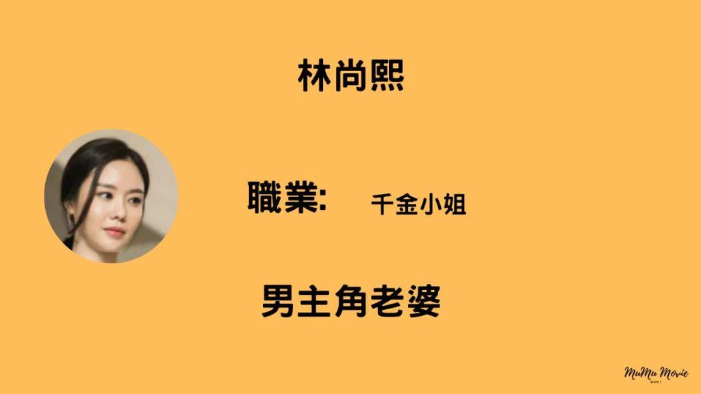 金權性內幕電影中林尚熙是誰?