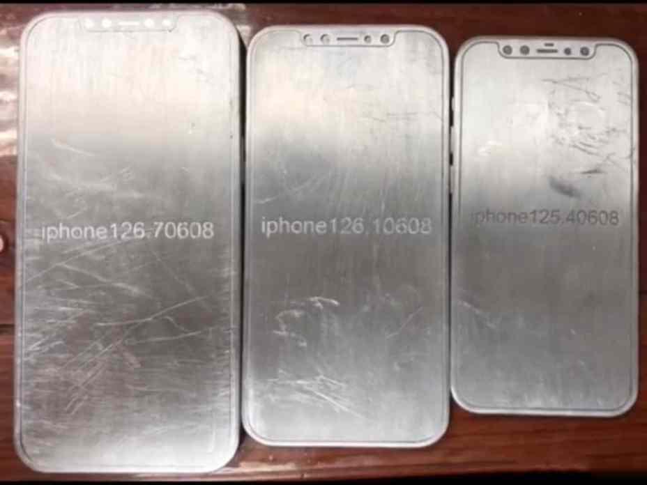 Leaked iPhone 12 Molds Show iPad Pro-like Design