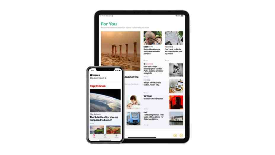 New iPad Buyers on Verizon Will Get Six Months of Free Apple News+ Subscription