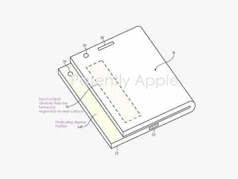 Apple Could Take Inspiration from Samsung for Its Foldable Phone, Patent Reveals