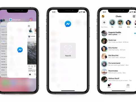 Facebook Messenger Update for iPhone Brings App Lock, Advanced Privacy Settings