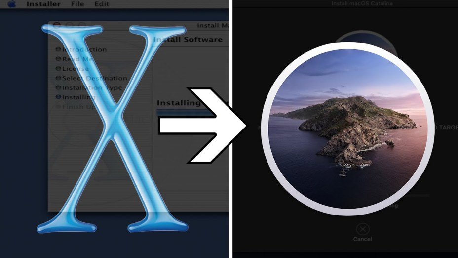 Timelapse Video Shows How macOS has Evolved from OS X to Catalina in 20 Years