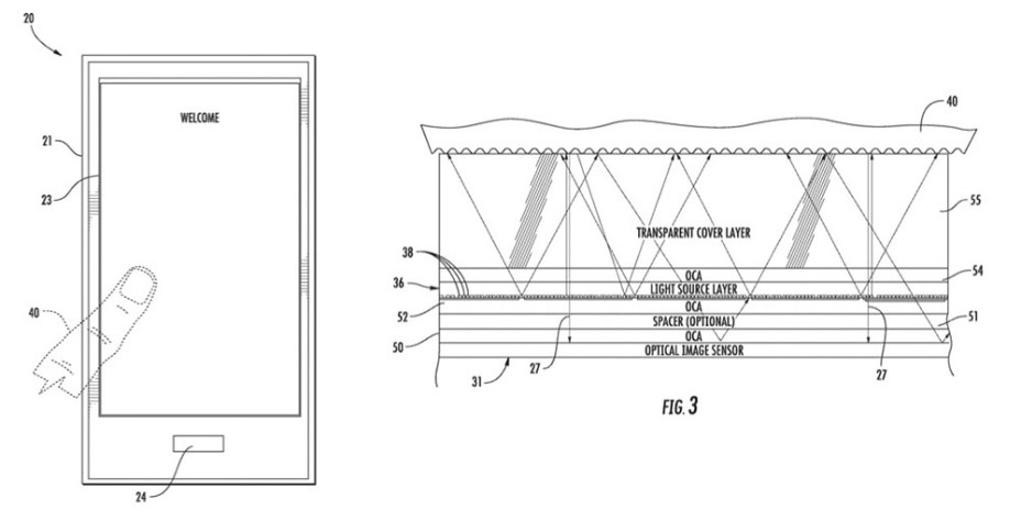 Apple Wins Another Patent for Under-Display Touch ID