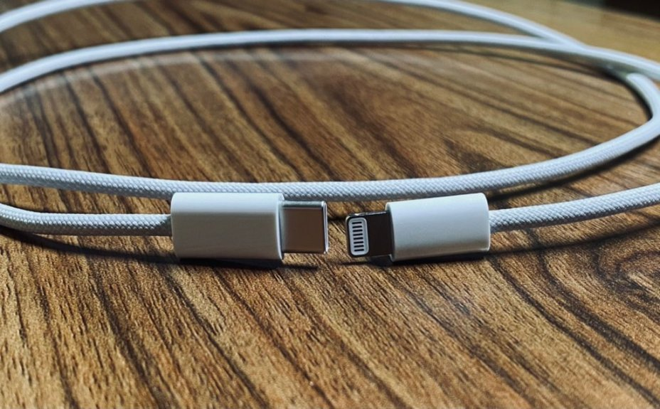 Leaked Images Show iPhone 12's Braided Lightning Cable