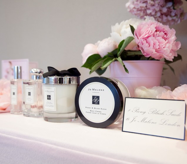 Jo Malone London Peony & Blush Suede collection