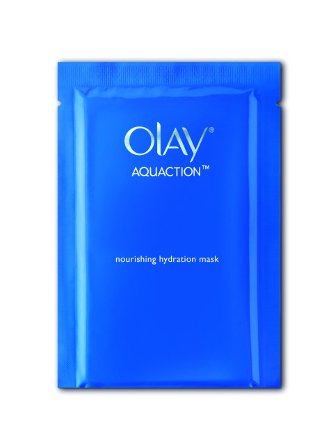 OLAY AquAction Nourishing Hydration Mask