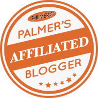 Palmers affiliated blogger badge
