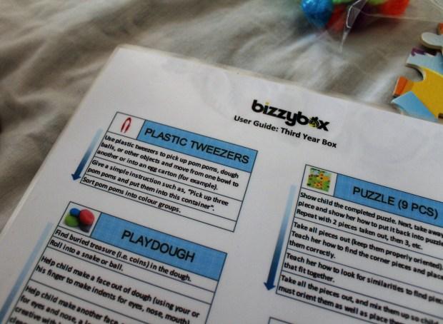 bizzy box mumzy notebook