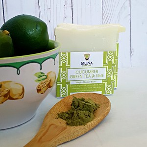 Cucumber & Green Tea Lime Soap Bar