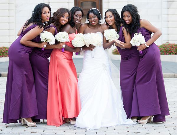 Stylish Nigerian Wedding In Baltimore, Maryland: Wendy