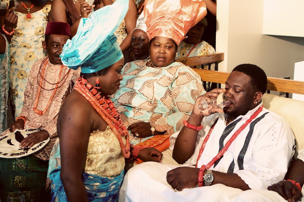 Nigerian Traditional Wedding: Abby + Maxwell