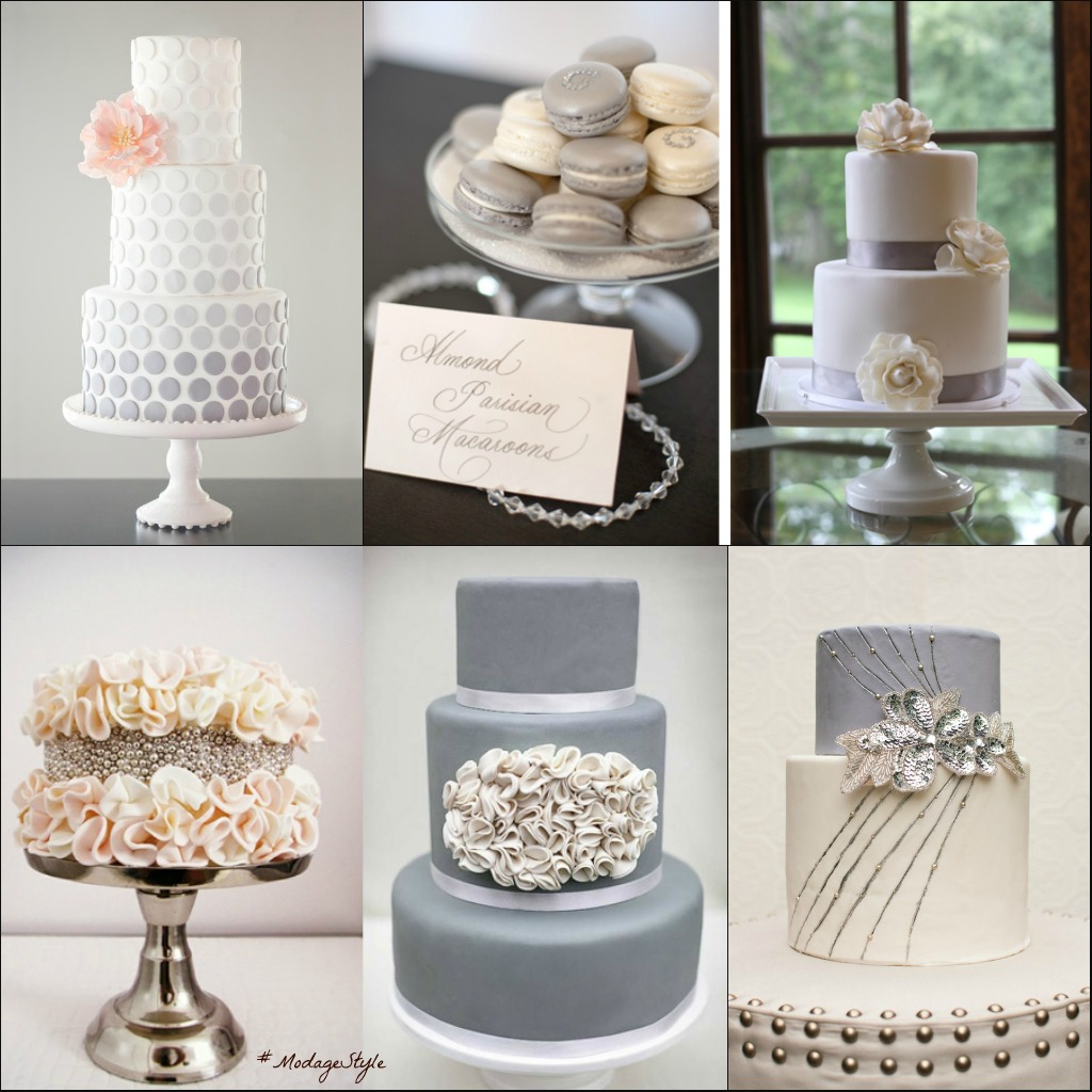 Fashion Friday Classic And Feminine Wedding Cakes