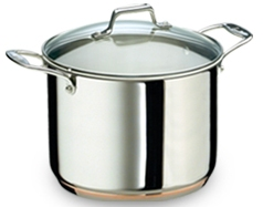 Emerilware 6 qt. Tall Stock Pot - Stainless