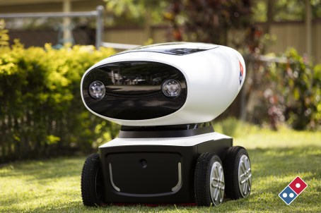 Domino's pizza delivery robot 2